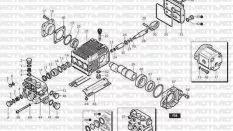 Annovi Reverberi (A&R) Pompa Teknik Şeması
