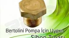 Bertolini Pompa – Sibop Tıpası