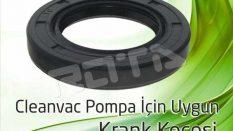 Cleanvac Pompa – Krank Keçesi