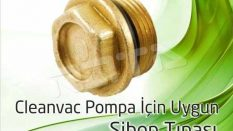 Cleanvac Pompa – Sibop Tıpası