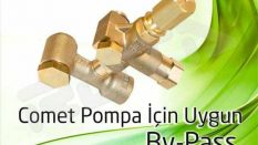 Comet Pump Control Valves for Pressure