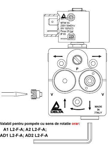 delta a1 r1 a1 r2 l2 - Yakıt Pompası