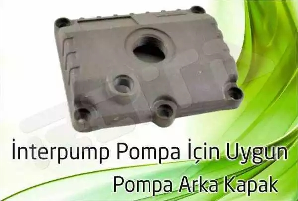 interpump pompa arka kapak 1