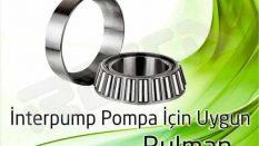 İnterpump Pompa – Rulman