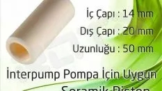 İnterpump Pompa – Seramik Piston