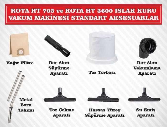rota-ht-703-ht-3600-islak-kuru-vakum-makinesi-standart-aksesuarlar