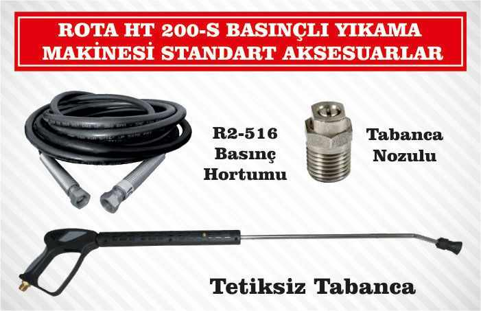 rota-ht200s-sicak-soguk-yikama-makinesi-standart-aksesuarlar
