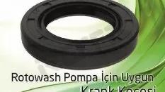 Rotowash Pompa – Krank Keçesi