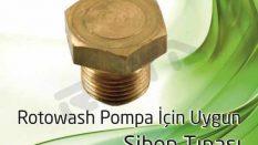 Rotowash Pompa – Sibop Tıpası
