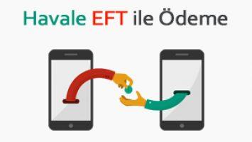 Havale / EFT / PTT ile Ödeme