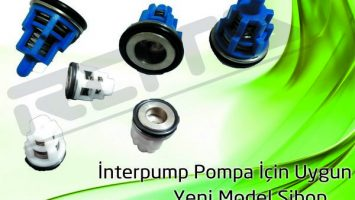 İnterpump Pompa Yeni Model Sibop