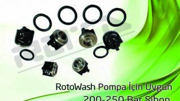 RotoWash 200-250 Bar Pompa – Sibop