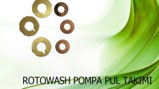Rotowash Pompa Pul Takımı