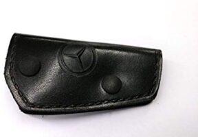 Klasik Mercedes Anahtarlık Deri