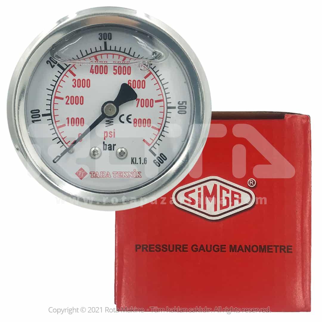 Rota Basincli Yikama Makinesi Basinc Saati Manometre - Basınçlı Yıkama Makinesi Basınç Saati Manometre