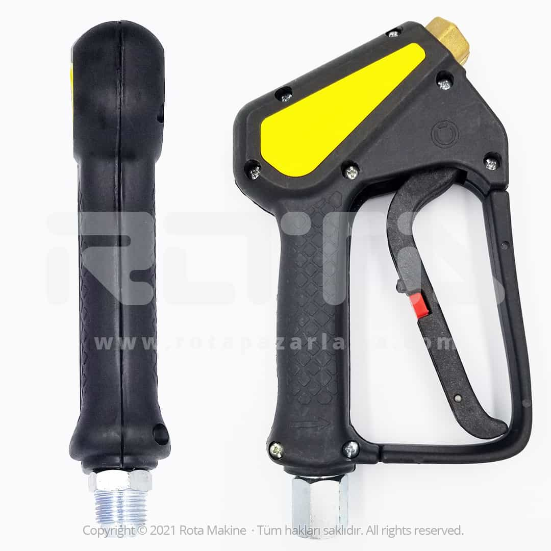 Rota Basincli Yikama Makinesi Basinc Tabancasi Tetikli Kabze 6 - Yıkama Makinesi Basınç Tabancası Tetikli Kabze