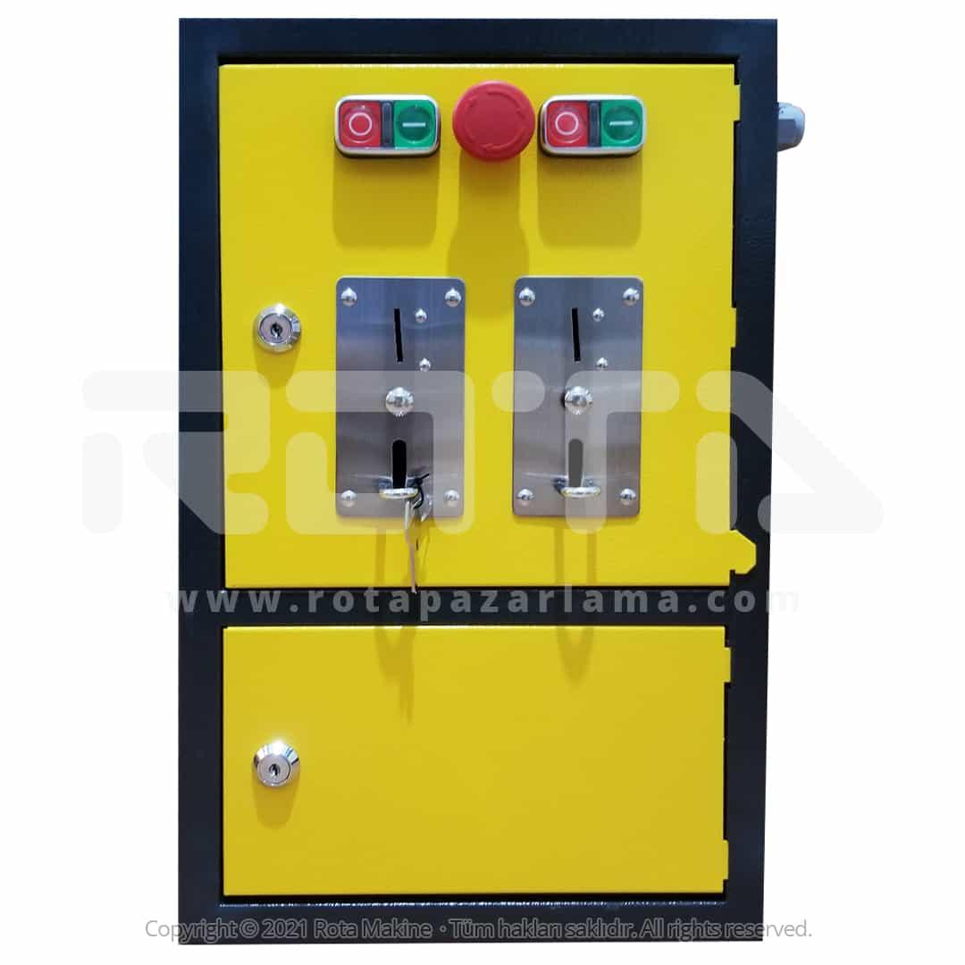 Rota Basincli Yikama Makinesi Parali Kumanda Paneli - Yıkama Makinesi Paralı Kumanda Paneli
